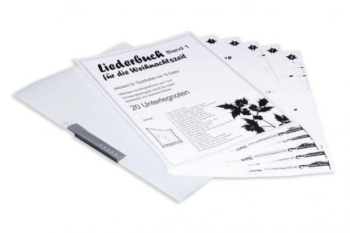 Weihnachtsliederbuch Band 1 für Veeh-Harfe, Tischharfe, 18 Saiten