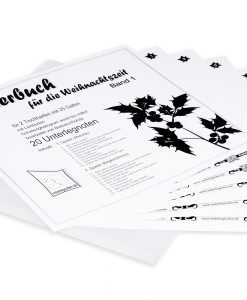 Weihnachtsliederbuch Band 1 für 2 Tischharfen mit 25 Saiten