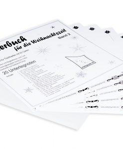 Weihnachtsliederbuch Band 2 für Tischharfe mit 25 Saiten
