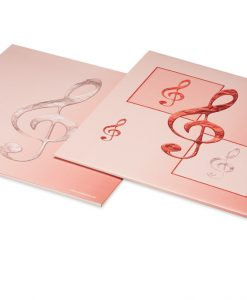 Notenhüllen aus Karton für Veeh-Harfe Standard, Zauberharfe, 21 und 25 Saiten