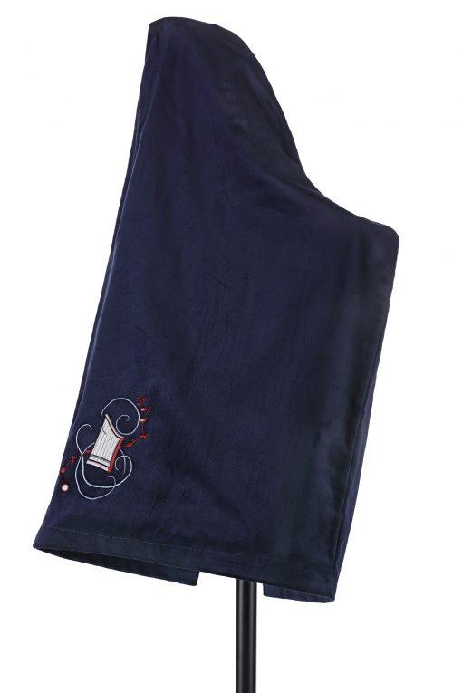 Schonbezug für Veeh-Harfe blau