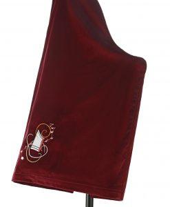 Schonbezug für Veeh-Harfe bordeaux