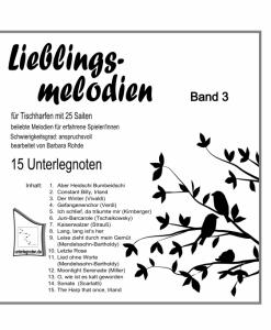 """Lieblingsmelodien für Veeh-Harfe """"Standard"""", Zauberharfe, Tischharfe mit 25 Saiten"""