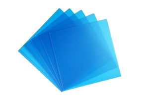 Notenhüllen blau, 25 Saiten, Tischharfen, Veeh-Harfen