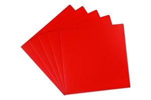 Notenhüllen rot, 25 Saiten, Tischharfen, Veeh-Harfen