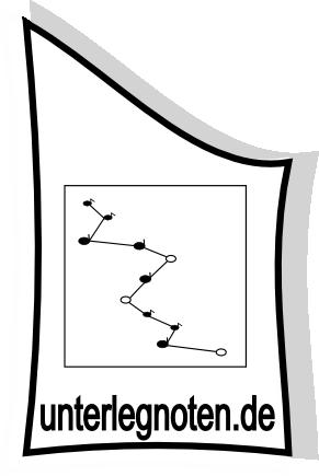 Unterlegnoten-Logo