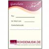 Gutschein Rohdemusik mit Code