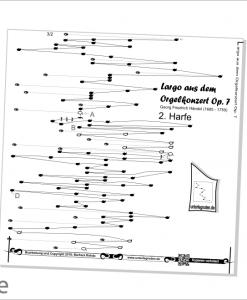 Duette, Unterlegnoten für Harmonieharfe, Zauberharfe oder Veeh-Harfe