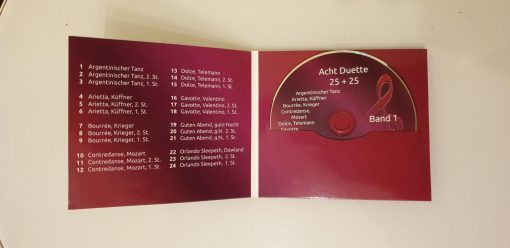 Playback CD Duette 25 + 25 Band 1