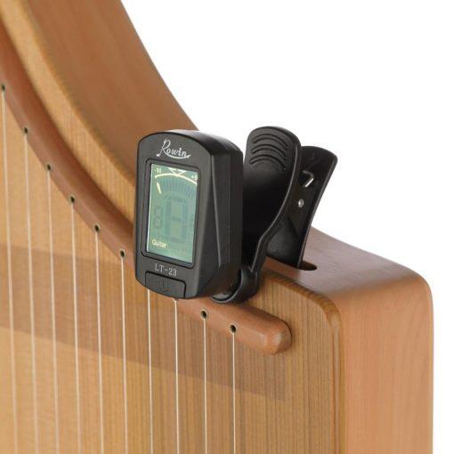 Harmonieharfe Celina mit Stimmgerät Miniclip