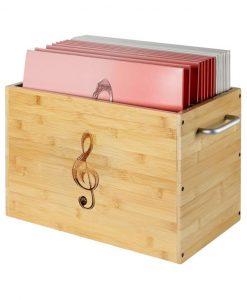 Notenbox mit Notenhüllen
