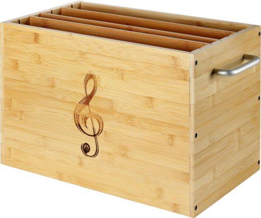 Notenbox für Unterlegnoten Harmonieharfen und Veeh-Harfen