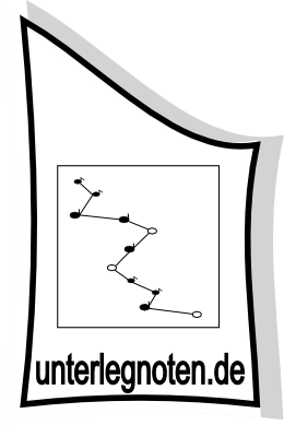 Logo Unterlegnoten