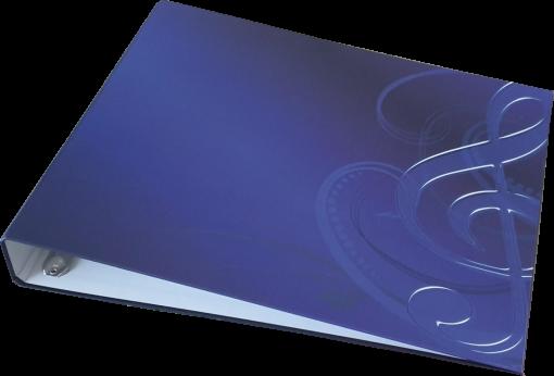Ringbuch für Unterlegnoten für Harmonieharfe, Zauberharfe oder Veeh-Harfe