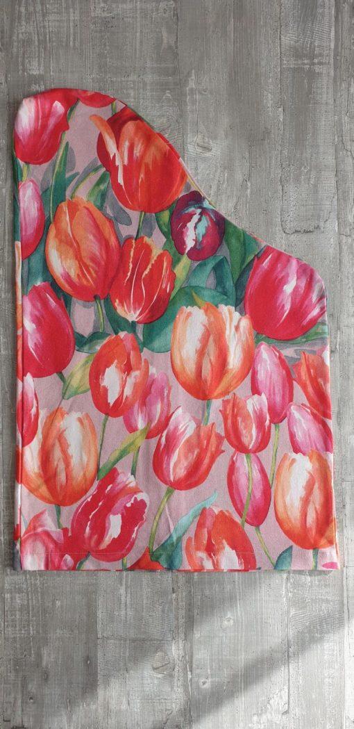 Schonbezug Tulpen für Veeh-Harfe