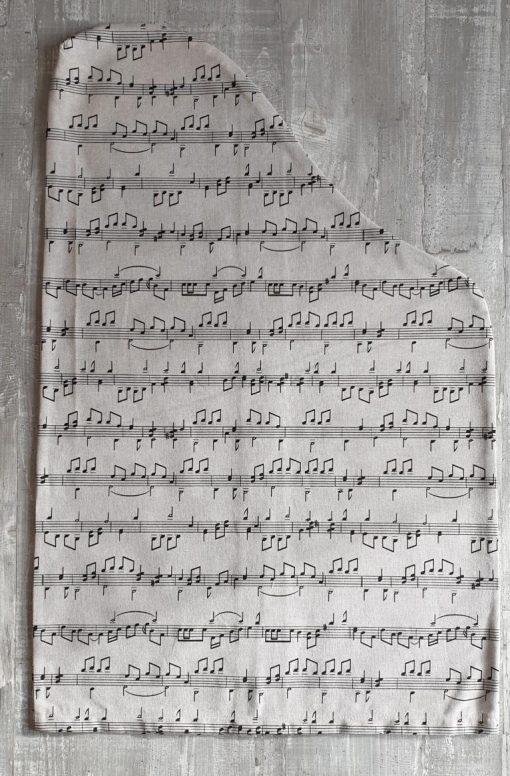 Schonbezug Motiv Noten für Harmonieharfe, Zauberharfe oder Veeh-Harfe