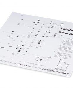 Notenblatt für Harmonieharfe, Zauberharfe oder Veeh-Harfe